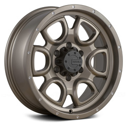 Mamba Wheels M19 - Bronze Rim - 18x9