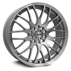 Maxxim Wheels Maxxim Wheels Maze - Silver/Machine Face - 15x6.5