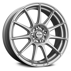 Maxxim Wheels Maxxim Wheels Winner - Full Silver - 15x6.5