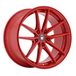 Konig Wheels Oversteer - Gloss Red