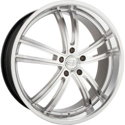 Privat Wheels Atlantik - Silver Mirror Machine Face - 19x8
