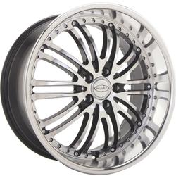 Privat Wheels Bremsen - Black/Machine Face - 20x9.5