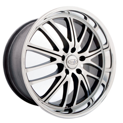 Privat Wheels Motiv - Graphite Mirror Face Polish - 19x8