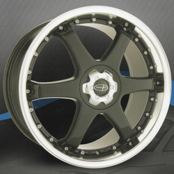 Privat Wheels Sekt - Gloss Black/Machined Lip