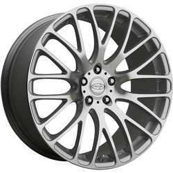 Privat Wheels Weiden - Silver Mirror Machine Face - 19x8