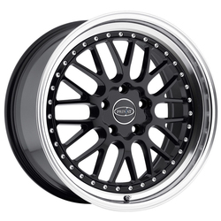 Privat Wheels Werks - Matte Black/Machine Lip - 19x9.5