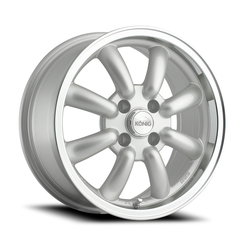 Konig Wheels Rewind - Silver Machine Lip