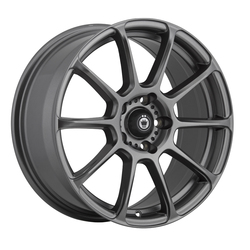 Konig Wheels Runlite - Matte Grey Rim