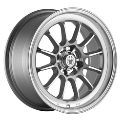 Konig Wheels Tweak'd - Silver w/Machined Face & Lip Rim