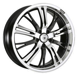 Konig Wheels Unknown - Black Machine Face