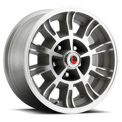 Legendary Wheels LW66 - Clear Coat / Machined Face Rim