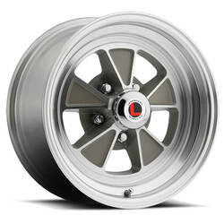 Legendary Wheels LW70 - Clear Coat / Machined Rim - 17x7
