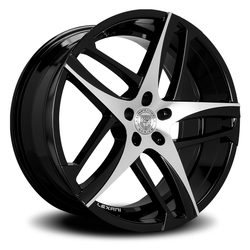 Lexani Wheels Bavaria - Machined Face