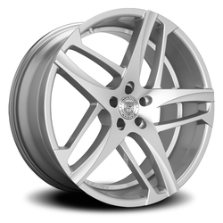 Lexani Wheels Bavaria - Silver Machined