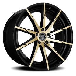 Lexani Wheels CSS15 - Black & Bronze