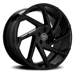 Lexani Wheels Cyclone - Gloss Black Rim - 26x10