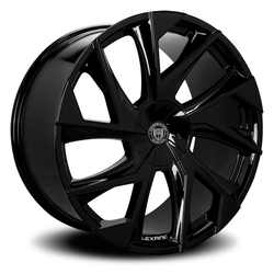 Lexani Wheels Ghost - Gloss Black Rim - 26x10
