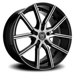 Lexani Wheels Gravity - Machined Face - 24x9