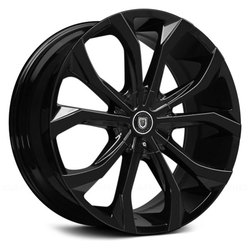 Lexani Wheels Lust - Gloss Black Rim - 26x10