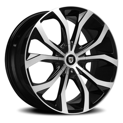 Lexani Wheels Lust - Machined Face Rim - 26x10