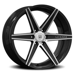 Lexani Wheels Savage - Machined Face / Black Accents / Mach Groove