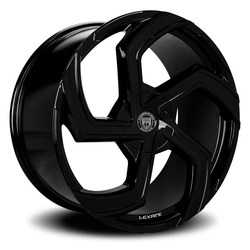 Lexani Wheels Swift - Gloss Black Rim - 26x10