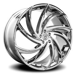 Lexani Wheels Twister - Chrome Rim - 26x10