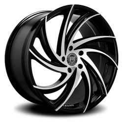 Lexani Wheels Twister - Machined Face Rim - 26x10