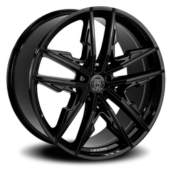 Lexani Wheels Venom - Gloss Black - 24x9