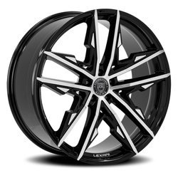 Lexani Wheels Venom - Machined & Black - 24x9