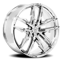 Lexani Wheels Venom - Chrome - 24x9