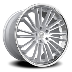 Lexani Wheels Virage - Silver/Brushed Face w/SS Lip