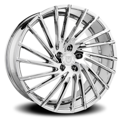 Lexani Wheels Wraith - Chrome Rim - 26x10