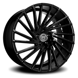 Lexani Wheels Wraith - Gloss Black Rim - 26x10