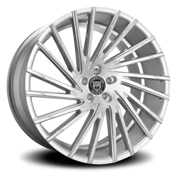 Lexani Wheels Wraith - Silver Brushed Rim - 26x10