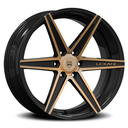 Lexani Wheels Savage - Brushed W/Bronze Tint