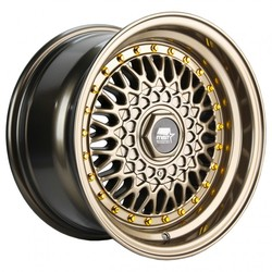 MST Wheels MT13 - Bronze w/Machined Lip Rim - 15x8