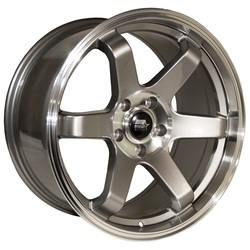 MST Wheels MT01 - Gunmetal w/Machined Lip