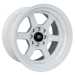 MST Wheels Time Attack - Glossy White Rim