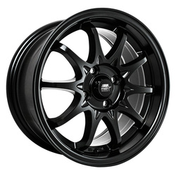 MST Wheels MT04 - Matte Black Rim