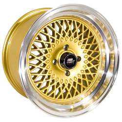 MST Wheels MT05 - Gold w/Machined Lip