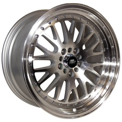 MST Wheels MT10 - Silver w/Machined Face Rim
