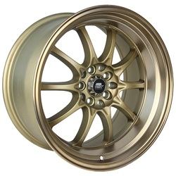 MST Wheels MT11 - Satin Bronze w/Bronze Lip Rim