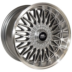 MST Wheels MT14 - Gunmetal w/Machined Lip