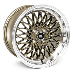 MST Wheels MT16 - Bronze w/Machined Lip Rim - 15x8