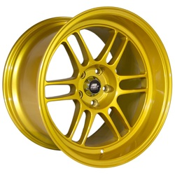 MST Wheels Suzuka - Candy Gold Pearl Rim