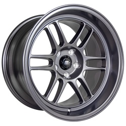 MST Wheels Suzuka - Matte Gunmetal Rim