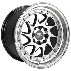 MST Wheels MT28 - Gunmetal w/Machined Face Rim