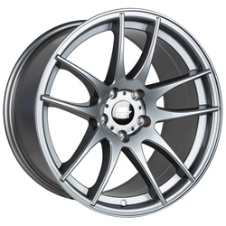 MST Wheels MT30 - Gunmetal Rim