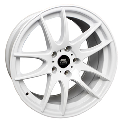 MST Wheels MT30-White Rim